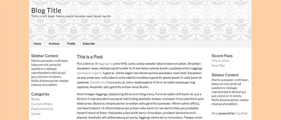 Change The Blog Background Color Css Cookbook